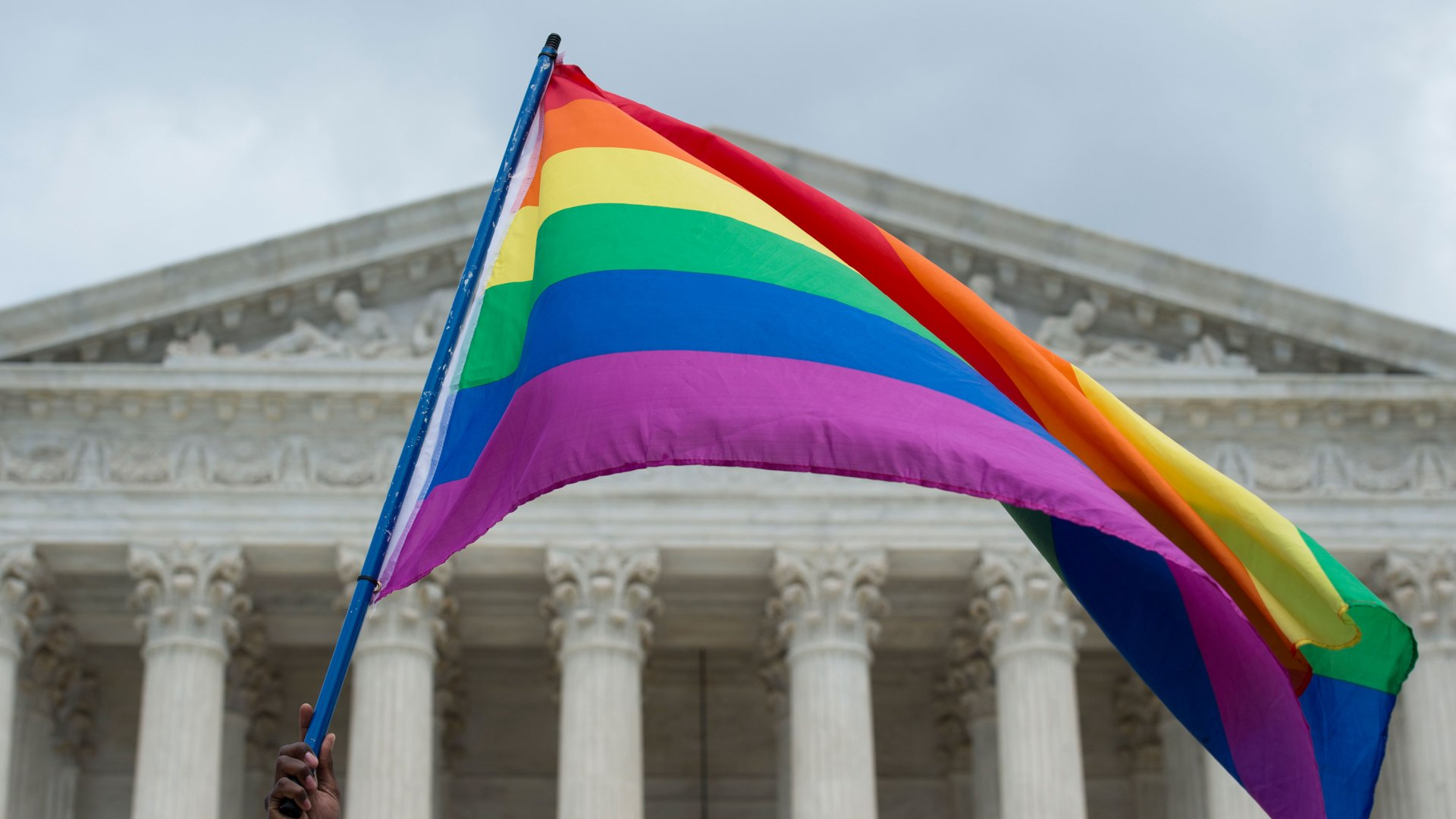 Supreme Court / Pride Flag